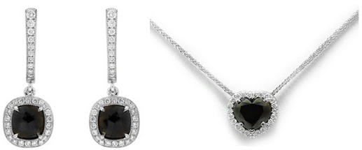 Fancy Black Diamond Jewellery