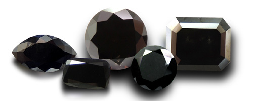 Fancy Black Diamonds