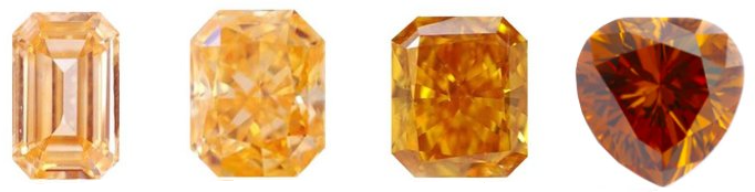 Orange Diamond Color Intensity