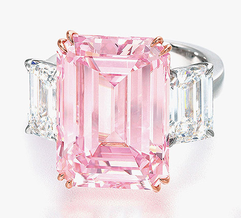 The Perfect Pink Diamond